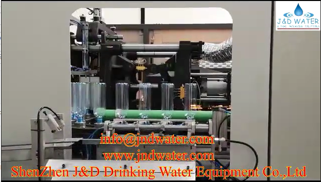 JNDWATER blowing machine and filling machine in Tanzania