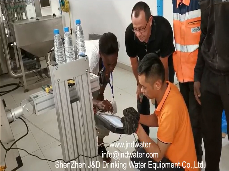 J&D WATER-Senegal JNDWATER machine commissioning