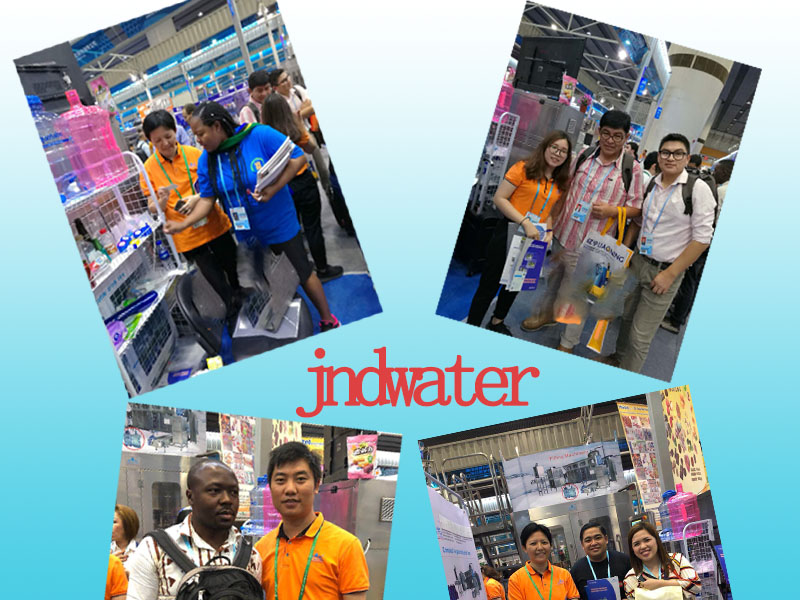 JD WATER-Beverage Production Line-jndwater Canton Trade Fair Booth No: 11e06-1