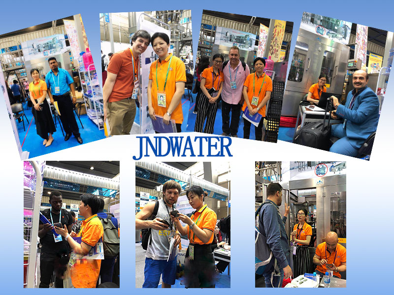 JD WATER-Bottling Line-jndwater Canton Trade Fair 2th Day-1