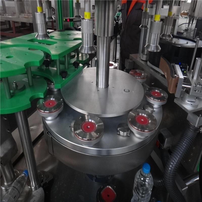 JNDWATER  JND-400R Automatic High Speed Hot Melt Glue Bottle  Label Machine