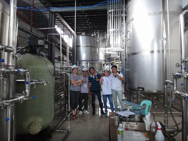 Shenzhen J&D Drinking Water install Juice Line in Philippines
