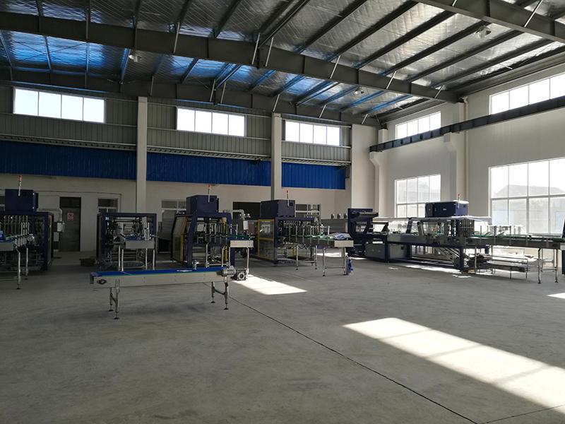 packing machine workshop
