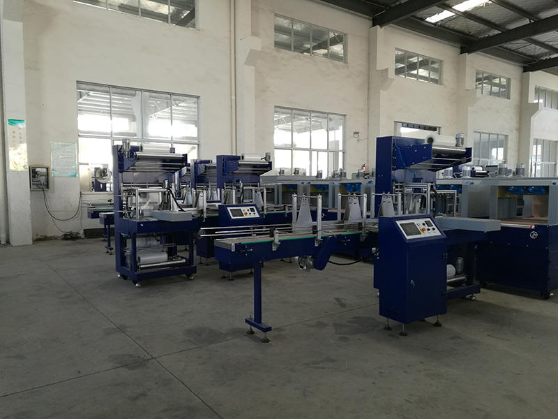 packing machine workshop