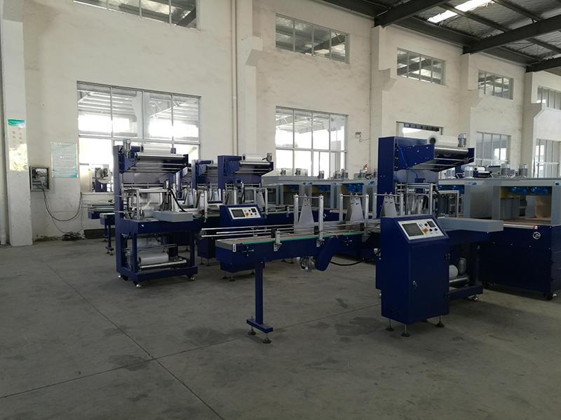 Máquina de embalaje de taller