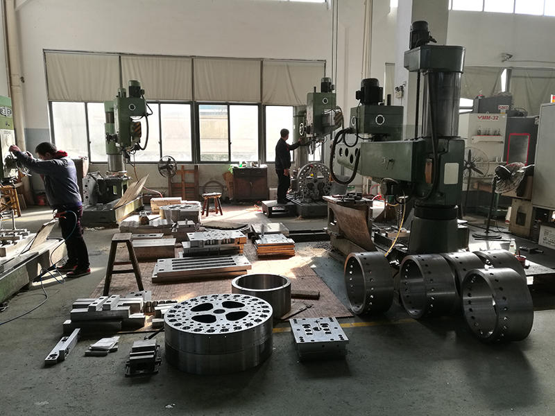 CNC máquina de perforación