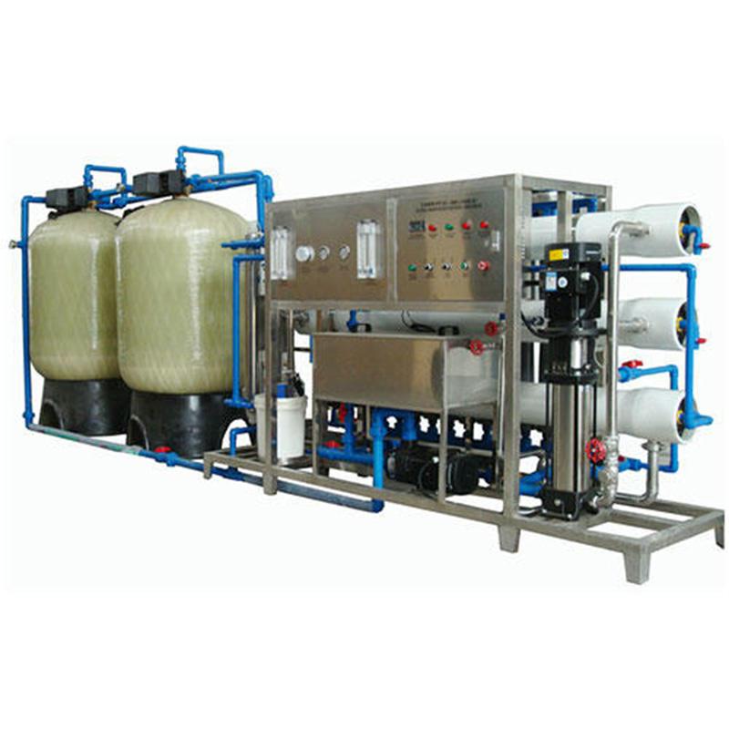 JNDWATER الزجاج خزان التناضح العكسي معالجة المياه