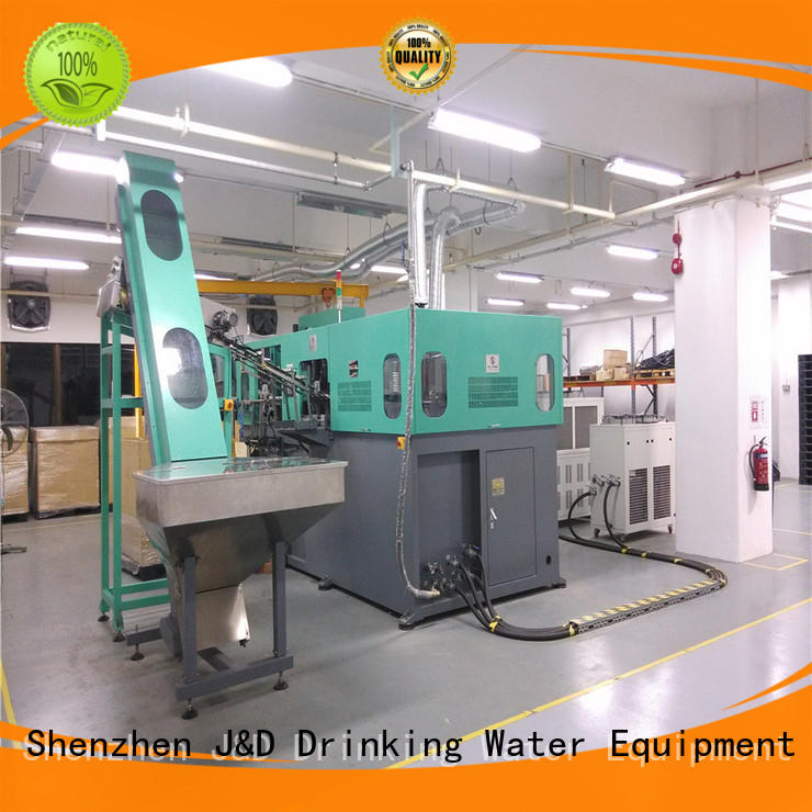 semi automatic pet blowing machine standrad for hot infusion J&D WATER