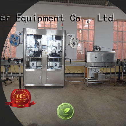 stainless steel automatic labeling machine quickly for metal container
