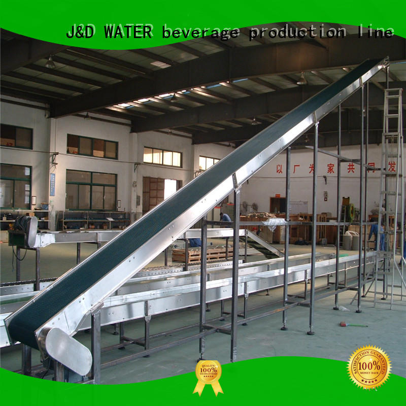 J&D WATER quick slat conveyor stability for food