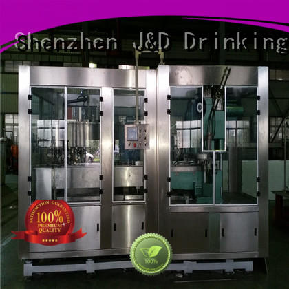 J&D WATER canning machine stainless steel for cosmetic