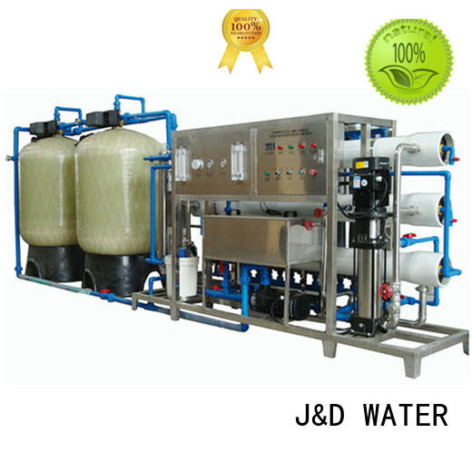 J&D WATER Customized ro water machine manual wash for industrial waste treatment