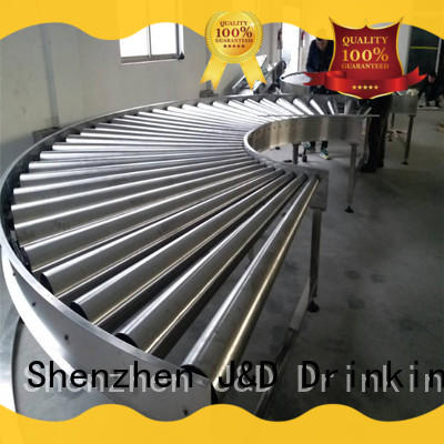 quick roll conveyor stability daily chemical J&D WATER
