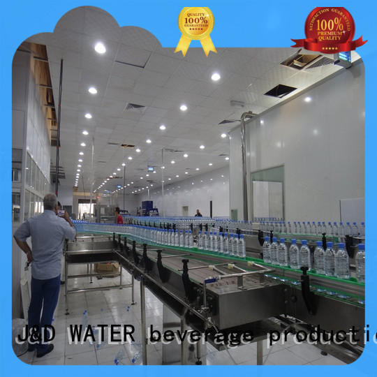 J&D WATER Customized chain conveyor stability for drinking water