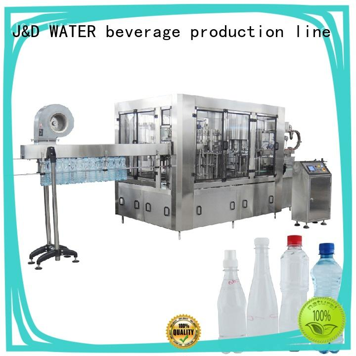 J&D WATER easy operation liquid packaging machine high accuracy for milk