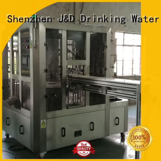 aseptic automatic bagging machine jndwater for container J&D WATER