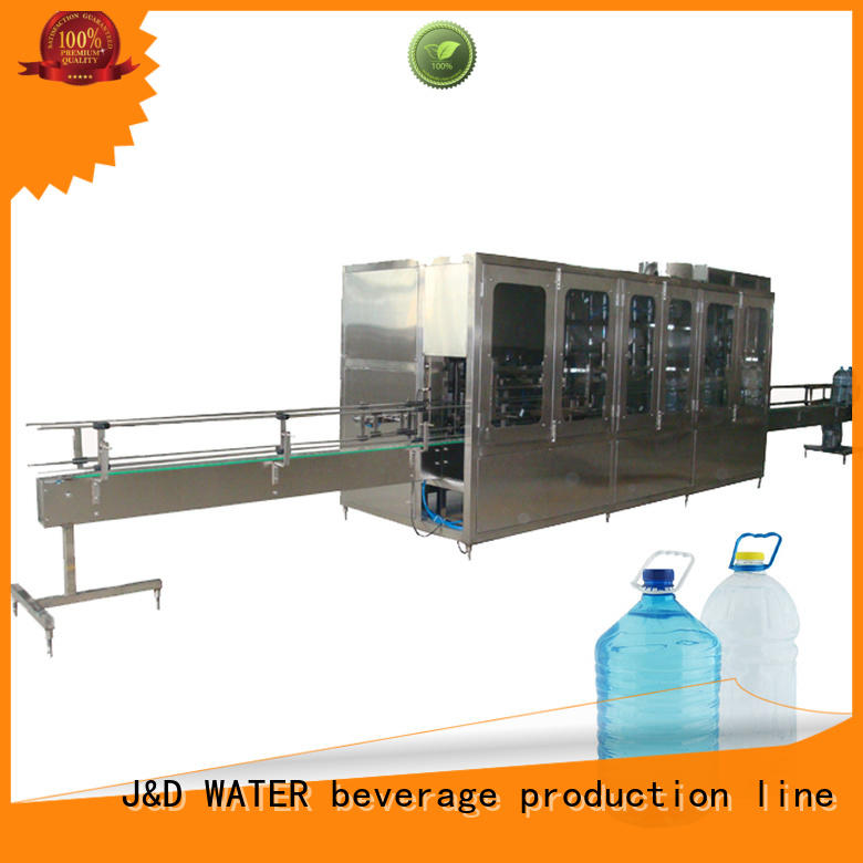 J&D WATER Customized bottle blowing machine CE standard for 2 Gallon