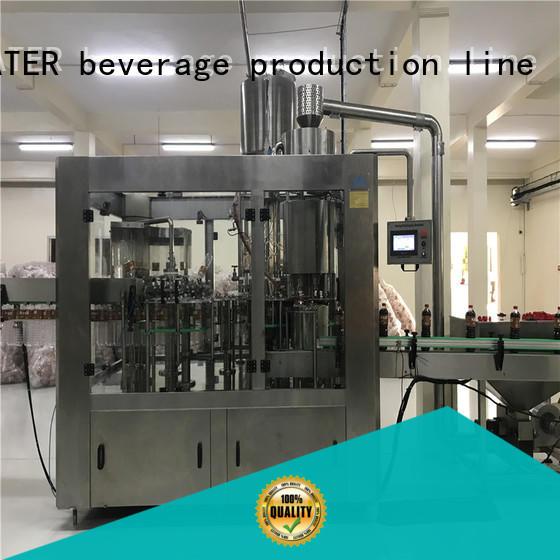 J&D WATER intelligent water packaging machine for milk