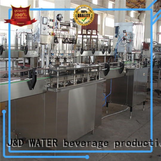J&D WATER canning machine high automation for cosmetic