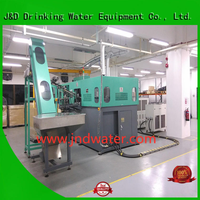 J&D WATER Brand pet blow machine semi automatic pet blowing machine price water