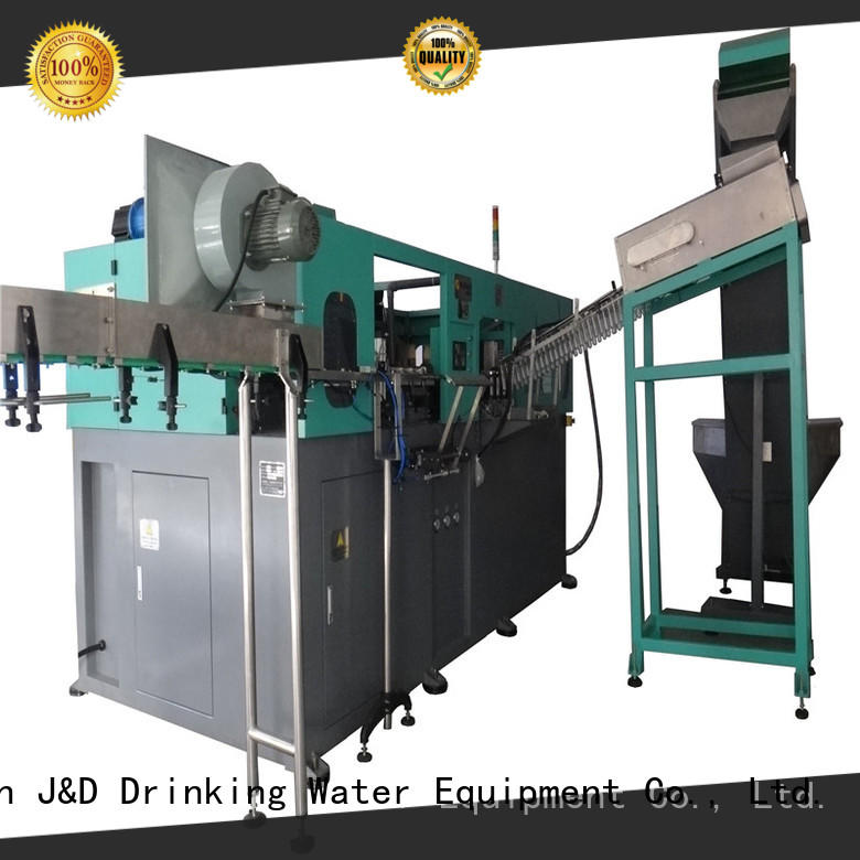 plastic bottle machine for sale for cosmetic J&D WATER