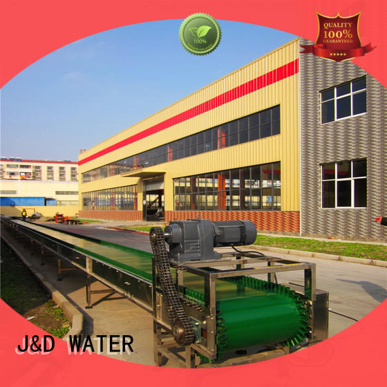 J&D WATER conveniently slat conveyor manufacturer for drinking water