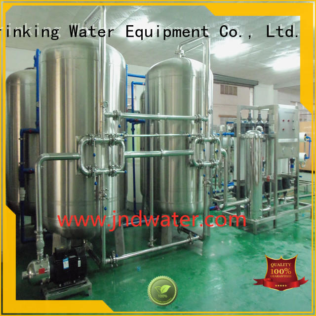 equipment treatment mineral water filter machine price J&D WATER Brand