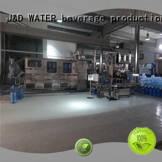 J&D WATER aseptic machine engineering for juice