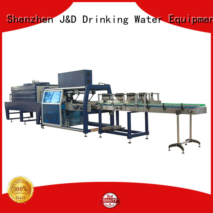 J&D WATER vacuum bottle pack machine precise control for chemistry