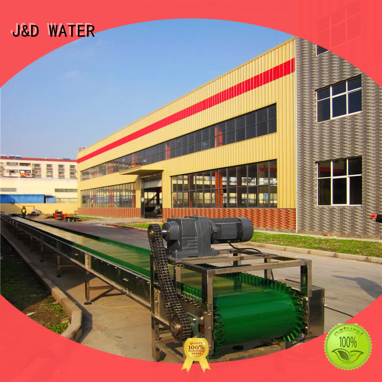 J&D WATER chain conveyor stability for food