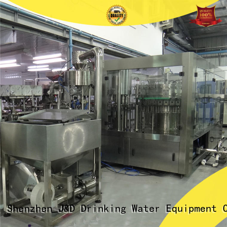 easy bottle filling machine small engineering for soy J&D WATER