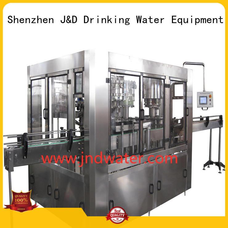 Качественная автоматическая разливочная машина J & D WATER марки easy machine