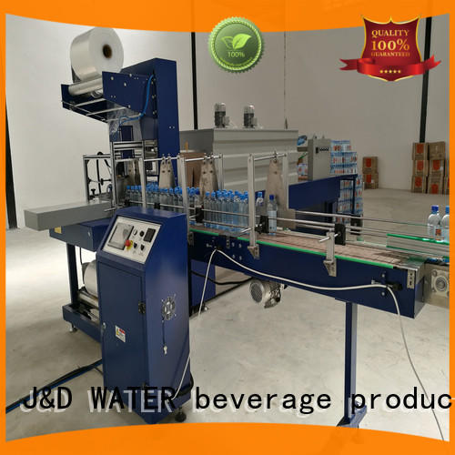 J&D WATER vacuum shrink packing machine precise control for chemistry