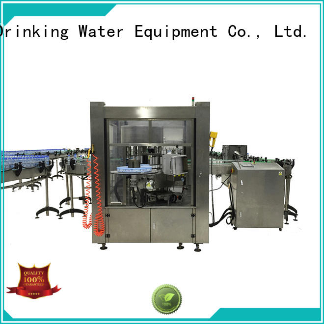anti-rust square bottle labeling machine intellectual control for glass bottle