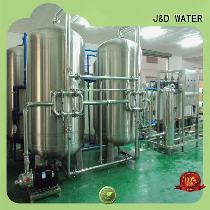 J&D WATER high quality mineral water plant machinery softener water