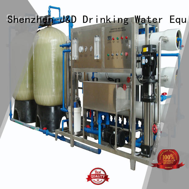 osmosis reverse ro machine treatment J&D WATER Brand