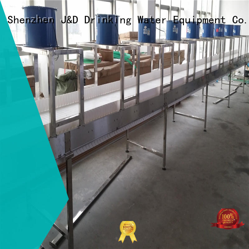 high quality slat conveyor stability for drinking water