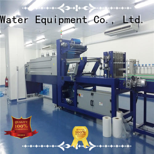 automatic shrink wrap machines for sale stable performance for beverage