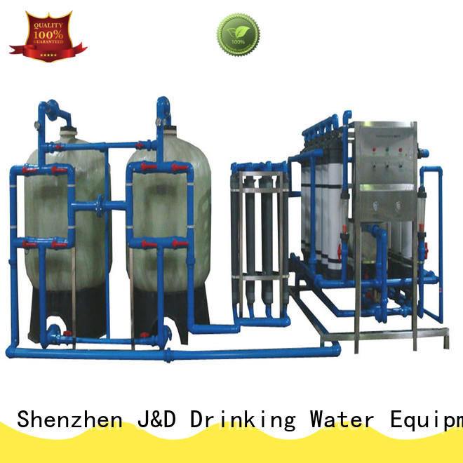 J&D WATER Customized water purifier machine for plant With Stainless Steel for beverage