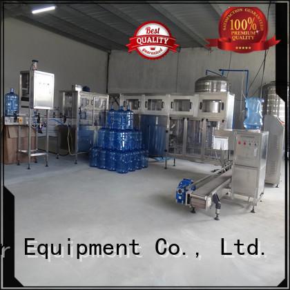 Hot machine water bottling machine prices filling J&D WATER Brand