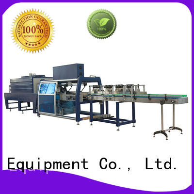 J&D WATER plastic wrapping machine stable performance for beverage