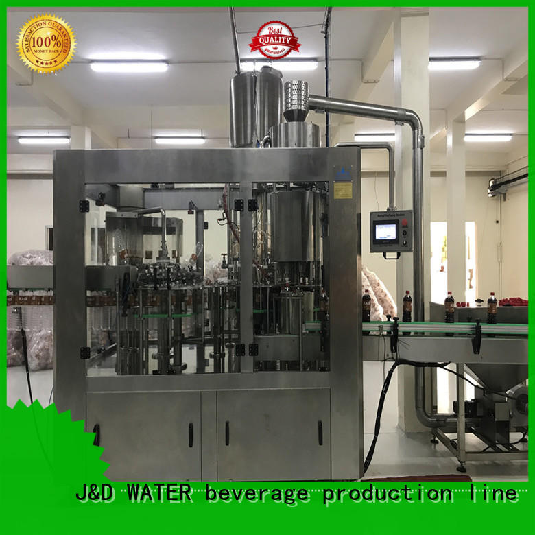J&D WATER larger capacity water packing machine factory for tea