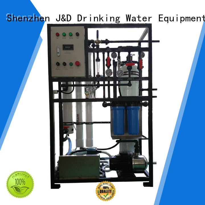 J&D WATER Economic seawater to drinking water machine water troop stations