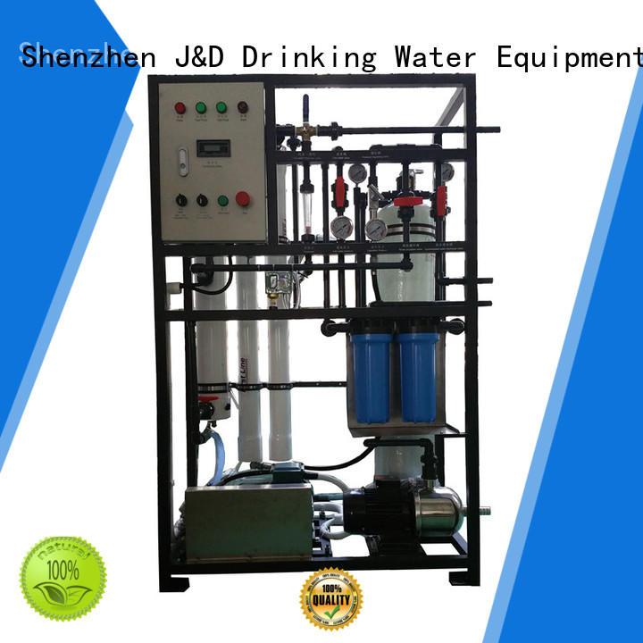 J&D WATER Economic seawater to drinking water machine water troop stations