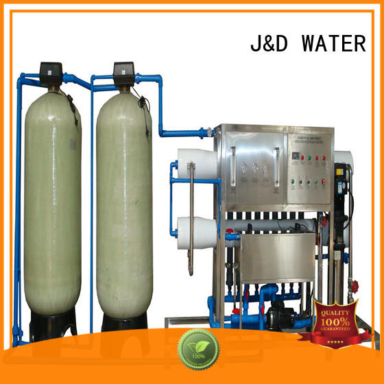 J&D WATER standrad reverse osmosis water purifier With Steel for pure water