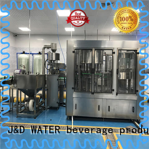 J&D WATER intelligent water bottling equipment high accuracy for sauce