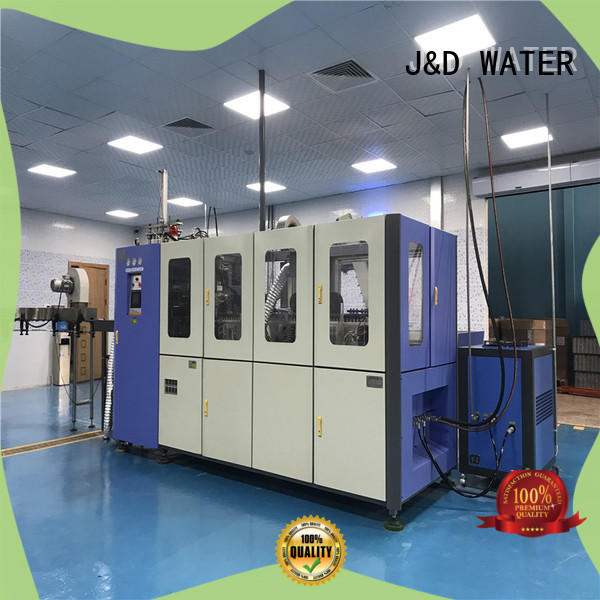 high quality injection blow moulding machine safely for mineral water