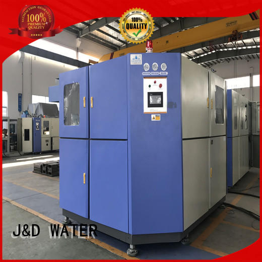 J&D WATER injection blow moulding machine safely for beverage