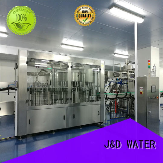 J&D WATER water bottle filling machine high automation for mineral water