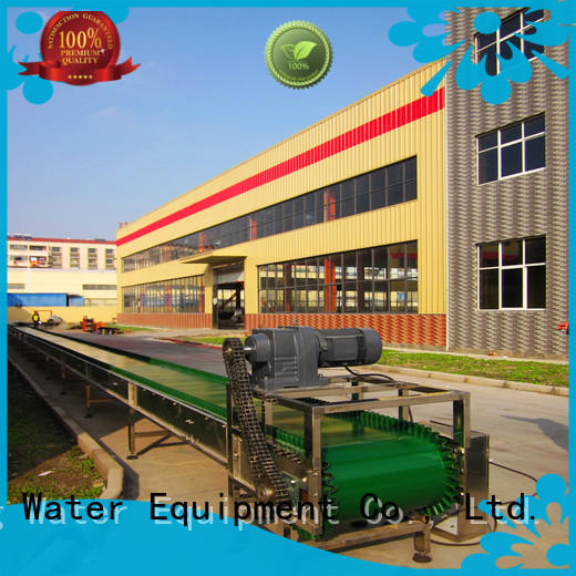 material stainless chain conveyor steel J&D WATER Brand company